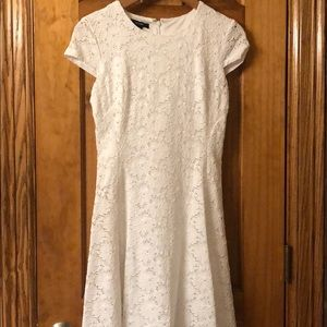 Alfani Dresses - White Lace Dress